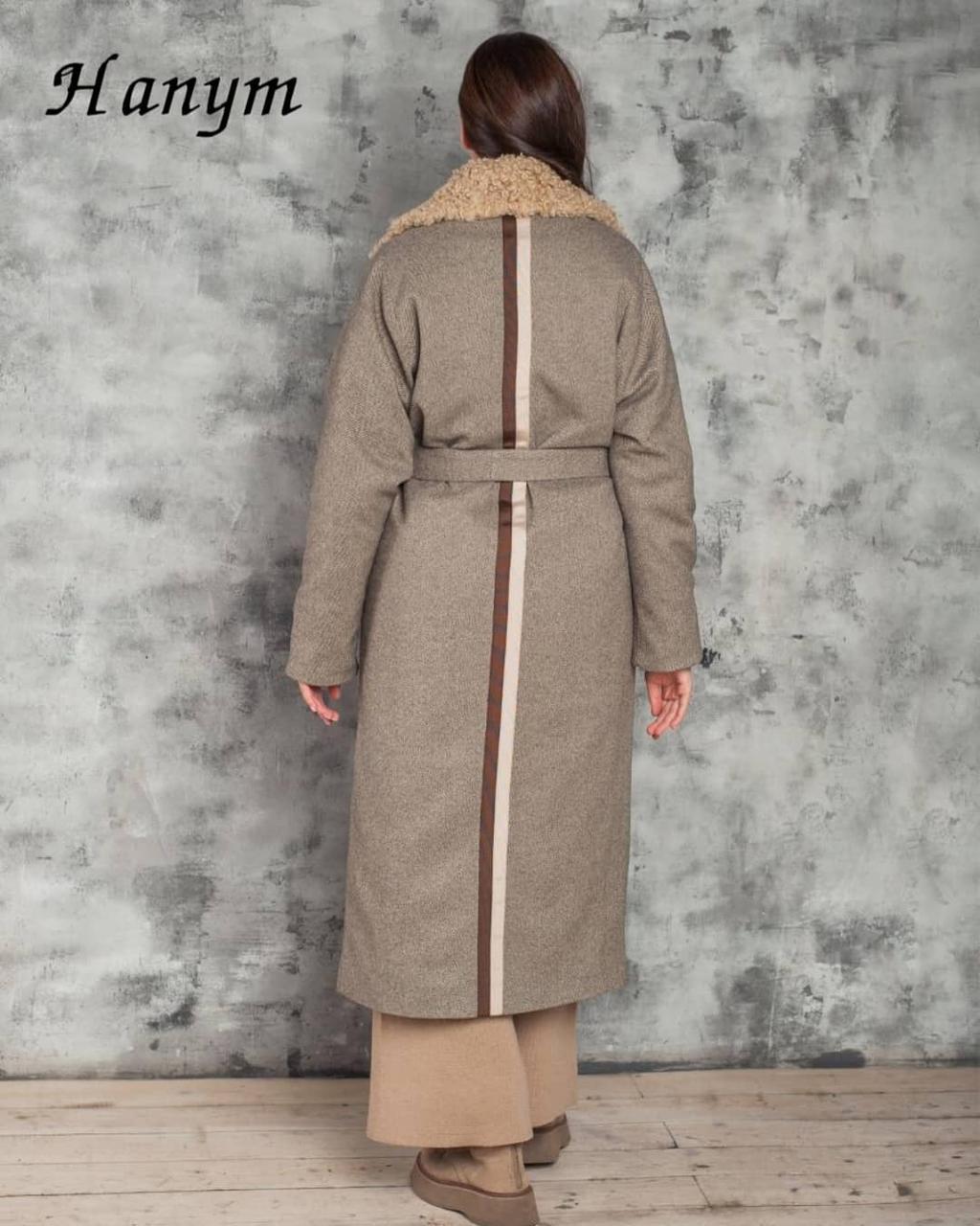 Женское пальто Италия (экомех) - фото 2