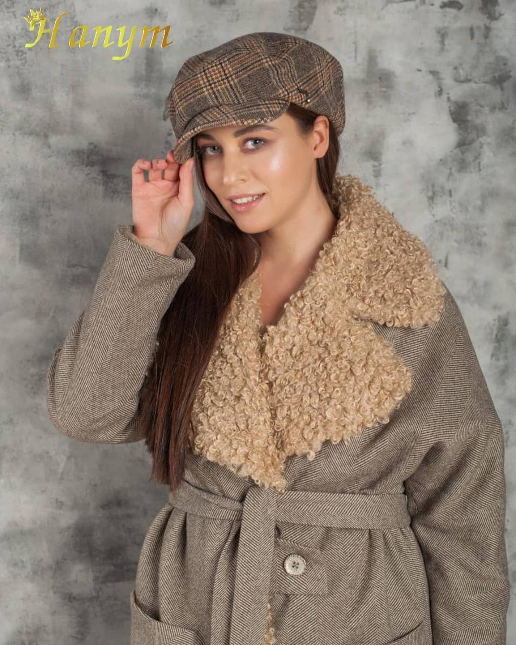 Женское пальто Италия (экомех) - фото 3