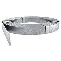 Плоский проводник из оцинкованной стали, 40х4 мм. Тип: 5052 DIN 40X4. Полоса, лента для заземления. Бренд ОБО