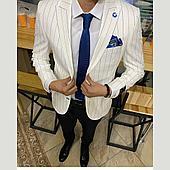 Мужской костюм (белый) мафия