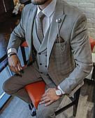 Мужской костюм тройка (вискоза 20%)