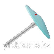Диск педикюрный пластиковый скошенный PODODISC STALEKS PRO L со сменным файлом 180 грит 5 шт 25 мм