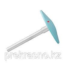 Диск педикюрный пластиковый скошенный PODODISC STALEKS PRO M со сменным файлом 180 грит 5 шт 20 мм