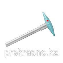 Диск педикюрный пластиковый скошенный PODODISC STALEKS PRO S со сменным файлом 180 грит 5 шт 15 мм