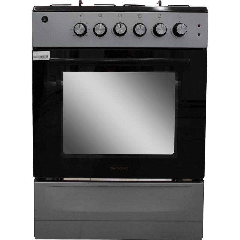 Комбинированная плита Shivaki Milagro 10-E подж. подсв. (серый)