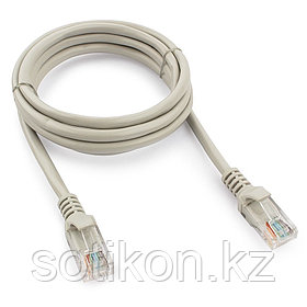 Патч-корд UTP Cablexpert PP12-1.5M кат.5e, 1.5м, литой, многожильный (серый)