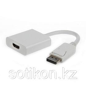 Переходник DisplayPort - HDMI Cablexpert A-DPM-HDMIF-002, 20M/19F, пакет