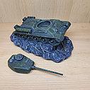 Копилка Танк Т-34 зеленая, фото 2