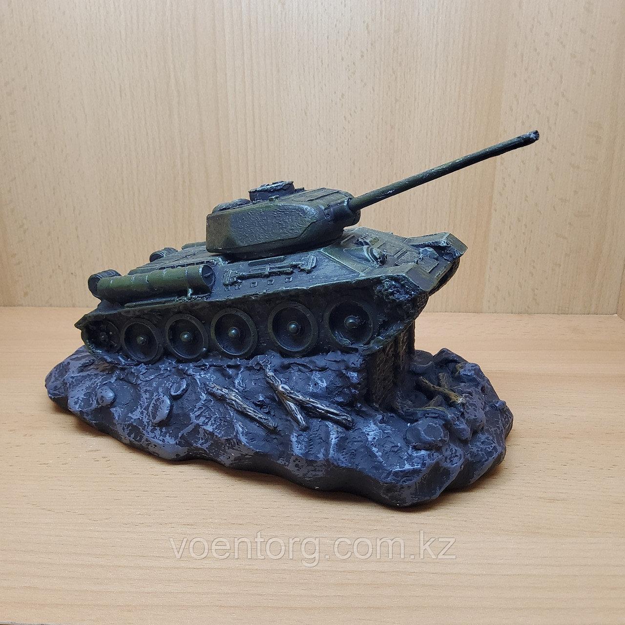 Копилка Танк Т-34 зеленая