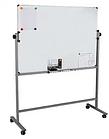 Доска магнитно-маркерная DELI 90 х 150 см, подставка 4 колеса