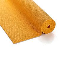 Коврик для йоги оранжевый / размер 173x61 см / толщина 6 мм / с чехлом / Yoga mat