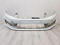6RU807221AGRU Бампер передний для Volkswagen Polo Sedan 2011- Б/У