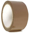 Клейкая лента упаковочная 48 мм х 100 м., коричневая