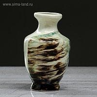 """Ваза настольная """"Дарина"""" , зелёная, 12,5 см, керамика"""