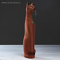 """Копилка """"Кот"""", коричневый цвет, 41 см"""