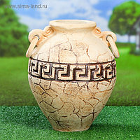 "Ваза напольная ""Юнона"" шамот, 35 см, керамика"