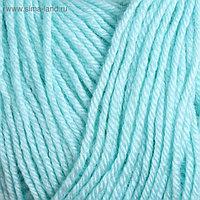 "Пряжа ""Baby Wool"" 40% шерсть, 40% акрил, 20% бамбук 175м/50гр (19 водяная зелень)"