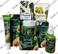 Набор для ухода за кожей лица 4в1 с экстрактом авокадо BioAqua