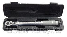 "Forcekraft Ключ динамометрический щелчкового типа 2-26Нм, 1/4"",в пластиковом футляре FORCEKRAFT FK-6472270"