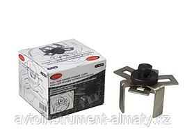 ROCKFORCE Ключ для снятия крышки топливного насоса с 3-мя регулируемыми захватами под ключ 24мм (75-160мм), в