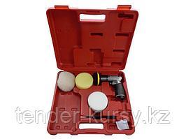 """Forsage Пневмополировальная машинка в комплекте с кругами 3"""", 5 предметов(2500об/мин ), в кейсе Forsage"""