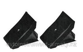 ROCKFORCE Башмак противооткатный металлический складной (длина - 100мм, ширина - 85мм, высота - 85мм), к-т 2шт