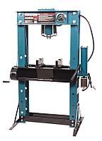 Forsage Пресс гидравлический напольный 45т, ручной/пневмо привод  (рабочая высота: 0-865мм, рабочая ширина: