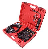 Forsage Стетоскоп диагностический для механика 6-ти канальный 10 предметов, в кейсе Forsage F-04D2018 15527