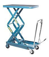 Forsage Стол подъемный  гидравлический для подъема и перевозки агрегатов 360кг (h min-360мм,h max-1290мм,