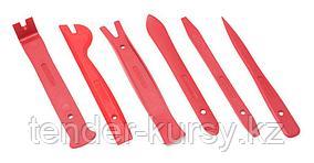 Forsage Набор приспособлений для демонтажа внутренней обшивки салона 6 предметов, в блистере Forsage F-906M3