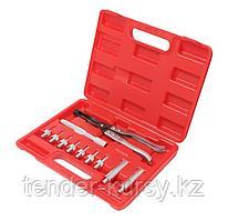 Forsage Набор инструментов для обслуживания клапанов ДВС 11 предметов, (направляющие - 5, 5.5, 6, 6.5, 7, 8мм,
