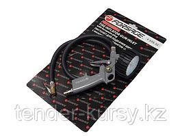 Forsage Пистолет для подкачки шин с монометром и шлангом 1м(0-15bar),в блистере Forsage F-STG-32 26642