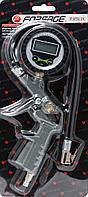 Forsage Пистолет для подкачки шин с цифровым манометром и шлангом, в блистере Forsage F-STG-25 26084