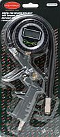 ROCKFORCE Пистолет для подкачки шин с цифровым манометроми шлангом, в блистере ROCKFORCE RF-STG-25 26138