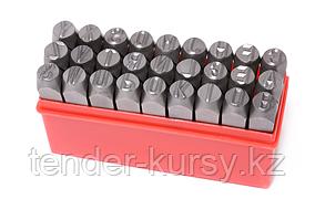 ROCKFORCE Набор штампов буквенных 10мм, 27 предметов, в пластиковом футляре ROCKFORCE RF-02710 16387