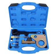 ROCKFORCE Набор фиксаторов для обслуживания двигателей Renault, Nissan, Opel (2.0 DCI)8 предметов, в кейсе