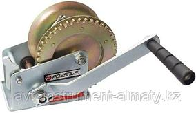 Forsage Лебедка ручная барабанная двухскоростная, 900кг(стальной трос, диаметр троса-5мм, длина троса-10м )