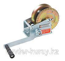 Forsage Лебедка ручная барабанная, 450кг (нейлоновый ремень, ширина ремня-50мм, длина ремня-10м) Forsage