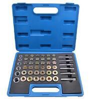 ROCKFORCE Набор метчиков и пробок для восстановления резьбы маслосливных отверстий114 предметов(М13х1.25,