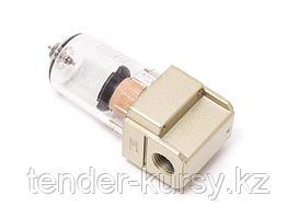 """Partner Фильтр для пневмосистем мини 1/4"""" (10 bar, пропускная способность: 200 л/мин, температура воздуха:"""