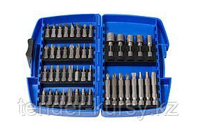 Partner Набор бит и головок магнитных, 45 предметов, в пластиковом футляре Partner PA-22045 26512