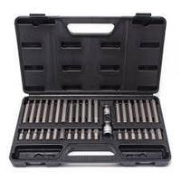 Partner Набор бит с битодержателями 40 предметов (10мм)(75/30мм:T20-T55,H4-H12,M5-M12) в пластиковом кейсе