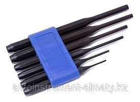 Forsage Набор выколоток, 6 предметов(2х115, 3х125, 4х150, 5х165, 6х180, 8х180мм), в пластиковом держателе