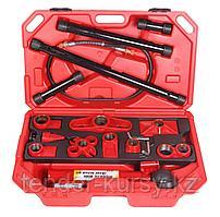 Forsage Набор гидравлического оборудования для кузовных работ, 10т (насос, цилиндр + комплект удлинителей и
