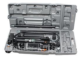 ROCKFORCE Набор гидравлического оборудования для кузовных работ, 10т, 15 предметов (насос, цилиндр + комплект