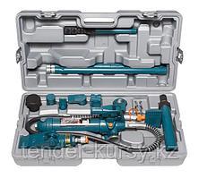 Forsage Набор гидравлического оборудования для кузовных работ, 4т, 14 предметов (насос, цилиндры + комплект