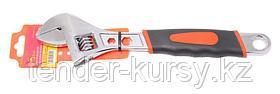 Kingtul Ключ разводной  с прорезиненной рукояткой и профильными отверстиями в корпусе под гайки (6гр.-5, 8мм;
