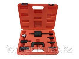Forsage Комплект для снятия дизельных форсунок с обратным молотком и резьбовыми адаптерами, 8 предметов