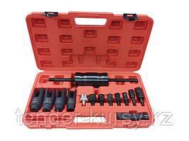 Forsage Комплект для снятия дизельных форсунок с обратным молотком, головками и резьбовыми адаптерами (головки