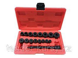 Forsage Комплект приспособлений для центровки сцепления, 17 предметов в кейсе Forsage F-04B1003 5093